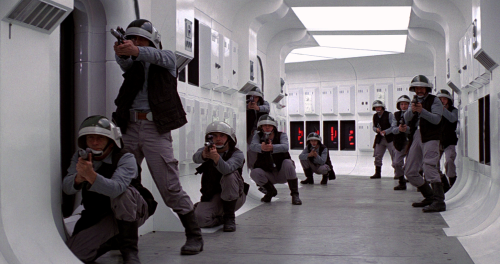 So, how many of these guys are actually Rebel Troopers, and how many are just working on the ship to pay the bills?