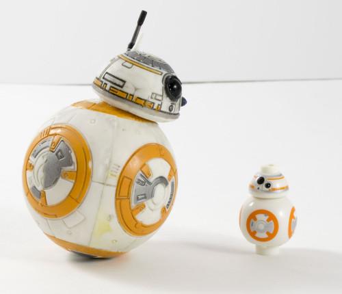 75105 BB-8 Comparison
