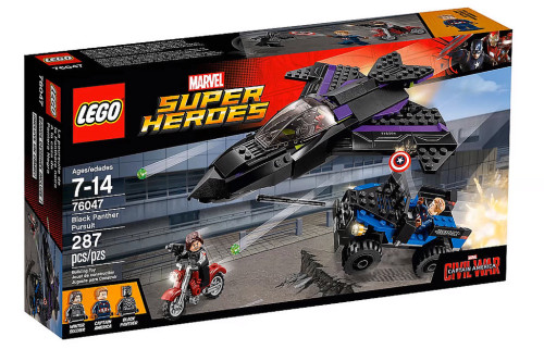 76047 Black Panther Pursuit - 1