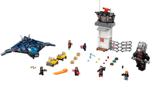 76051 Super Hero Airport Battle - 2