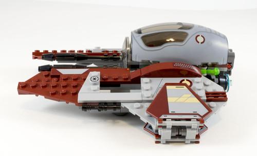 75135 Jedi Interceptor Side