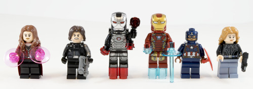 76051 Airport Battle Minifigs