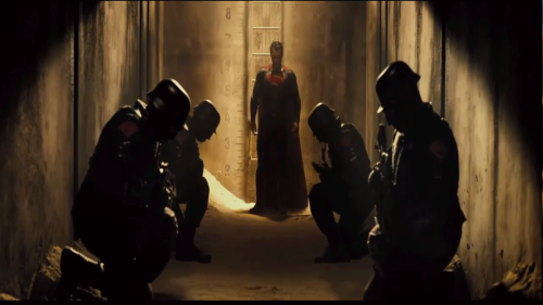 """I hope one of these guys whispered """"kneel before Zod"""""""
