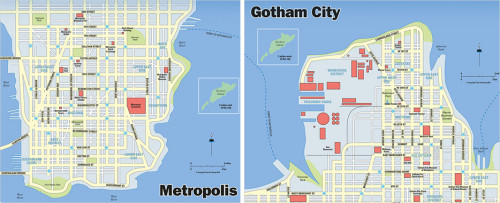 Apparently Gotham isn't Chicago... it's Jersey City.