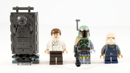 LEGO Star Wars Carbon Freezing Chamber Han Solo /& Carbonite Minifigure 75137