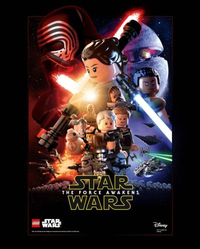 LEGO TFA Poster