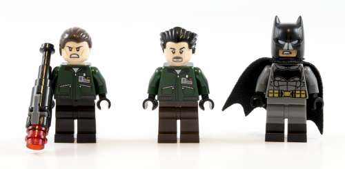 76045 Kryptonite Interception Minifigs