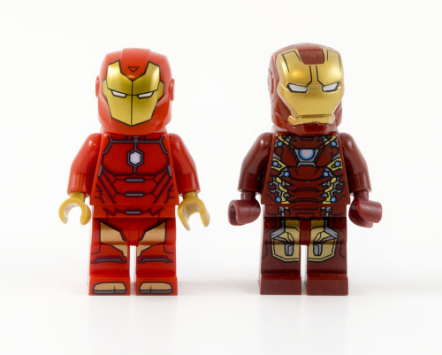 76077 Iron Man Comparison