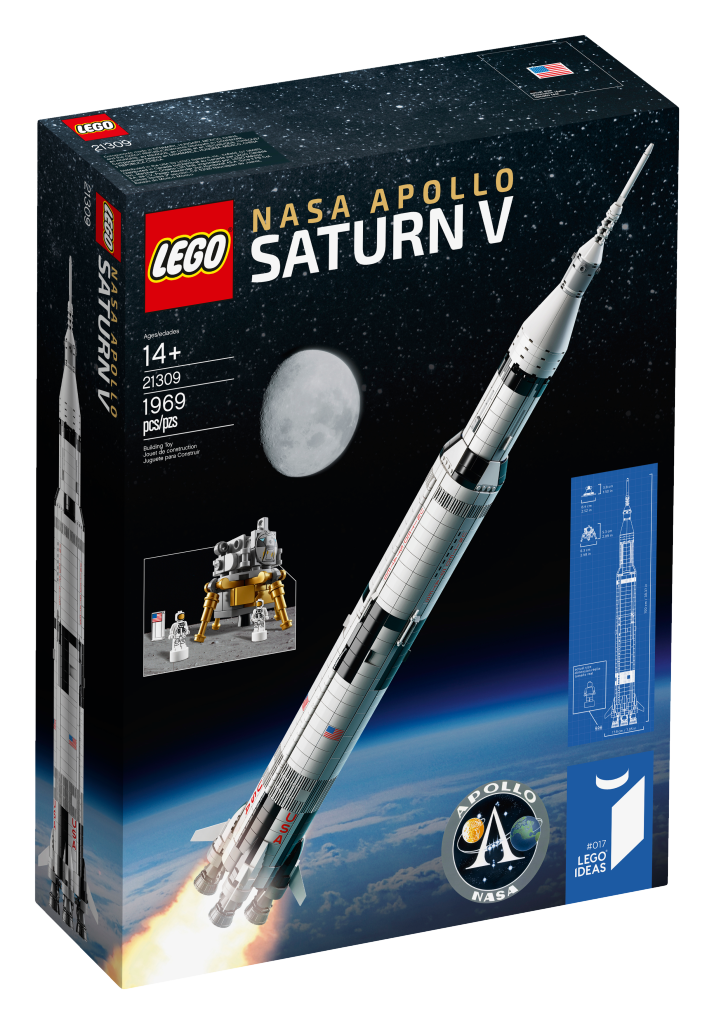 21309 LEGO NASA Apollo Saturn V box image