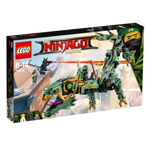 70612 Green Ninja Mech Dragon - 1