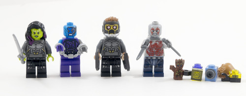 76081 - The Milano vs. The Abilisk Minifigures