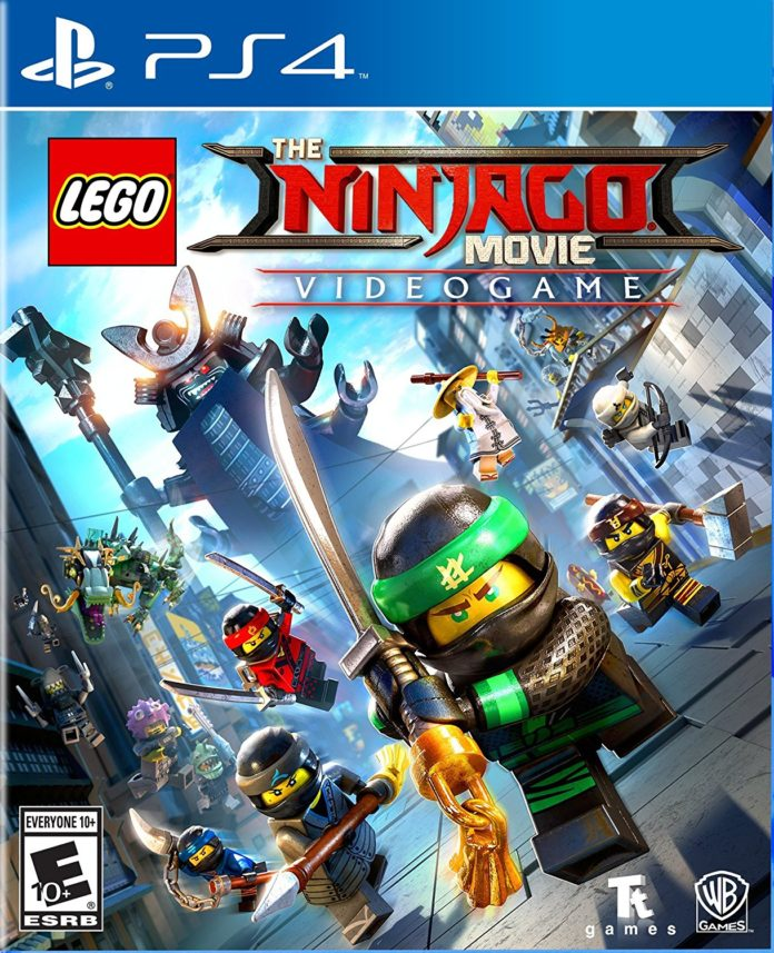 The LEGO NINJAGO Movie Video Game for PS4
