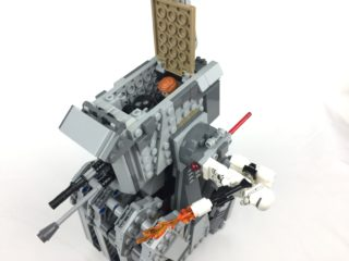 First Order Heavy Scout Walker with passenger