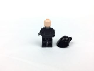First Order Gunner minifig back without helmet