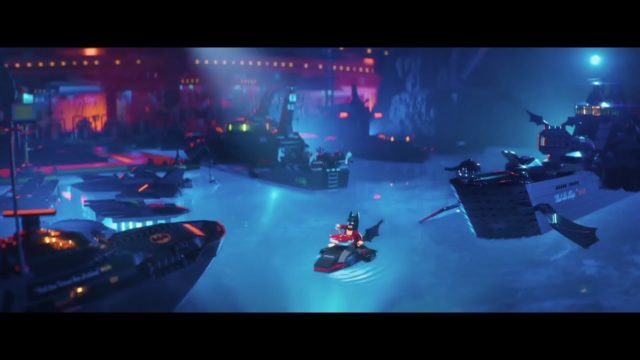 The LEGO Batman Movie Lobster Scene