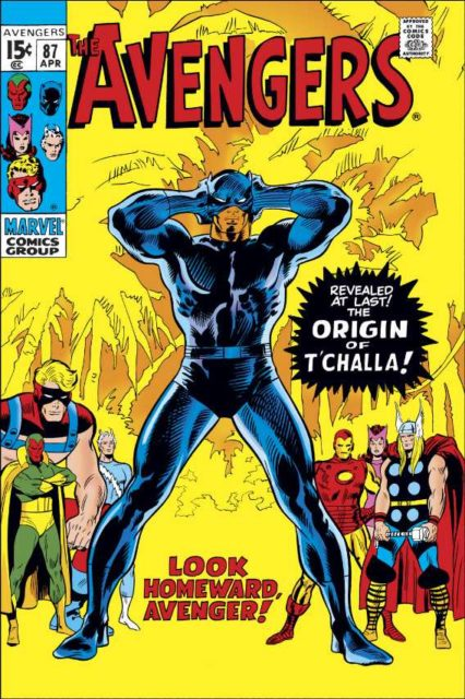 Original Avengers 87 comic book cover