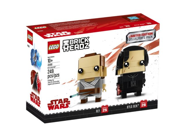 41489 Rey & Kylo Ren box