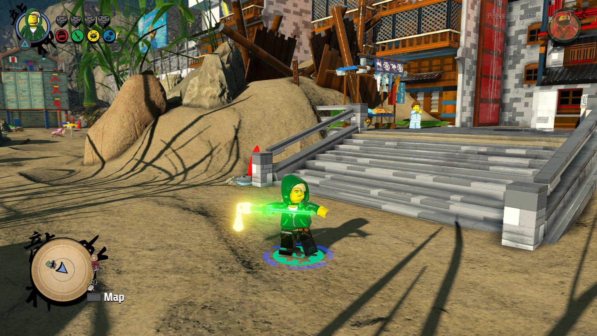 Finally Completed The Lego Ninjago Movie Video Game Hooded Lloyd Secret Character Unlocked Fbtb