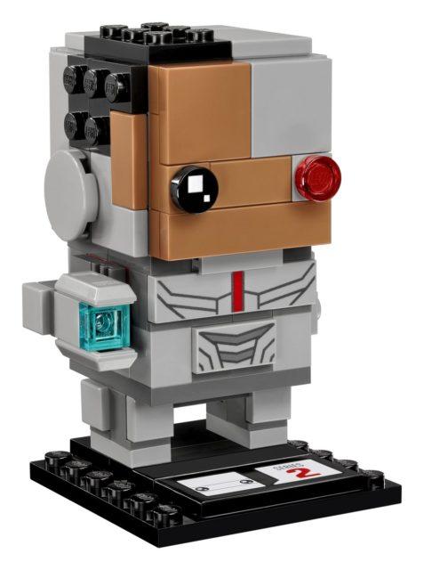 Justice League BrickHeadz - Cyborg