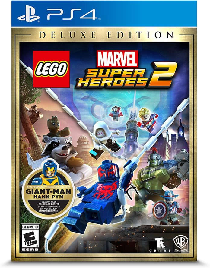 LEGO Marvel Super Heroes 2 PS4 box