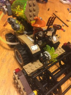 76054 Batman Scarecrow Harvest of Fear - Combine