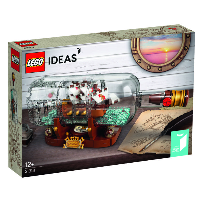 21313 Ship In A Bottle Box 1