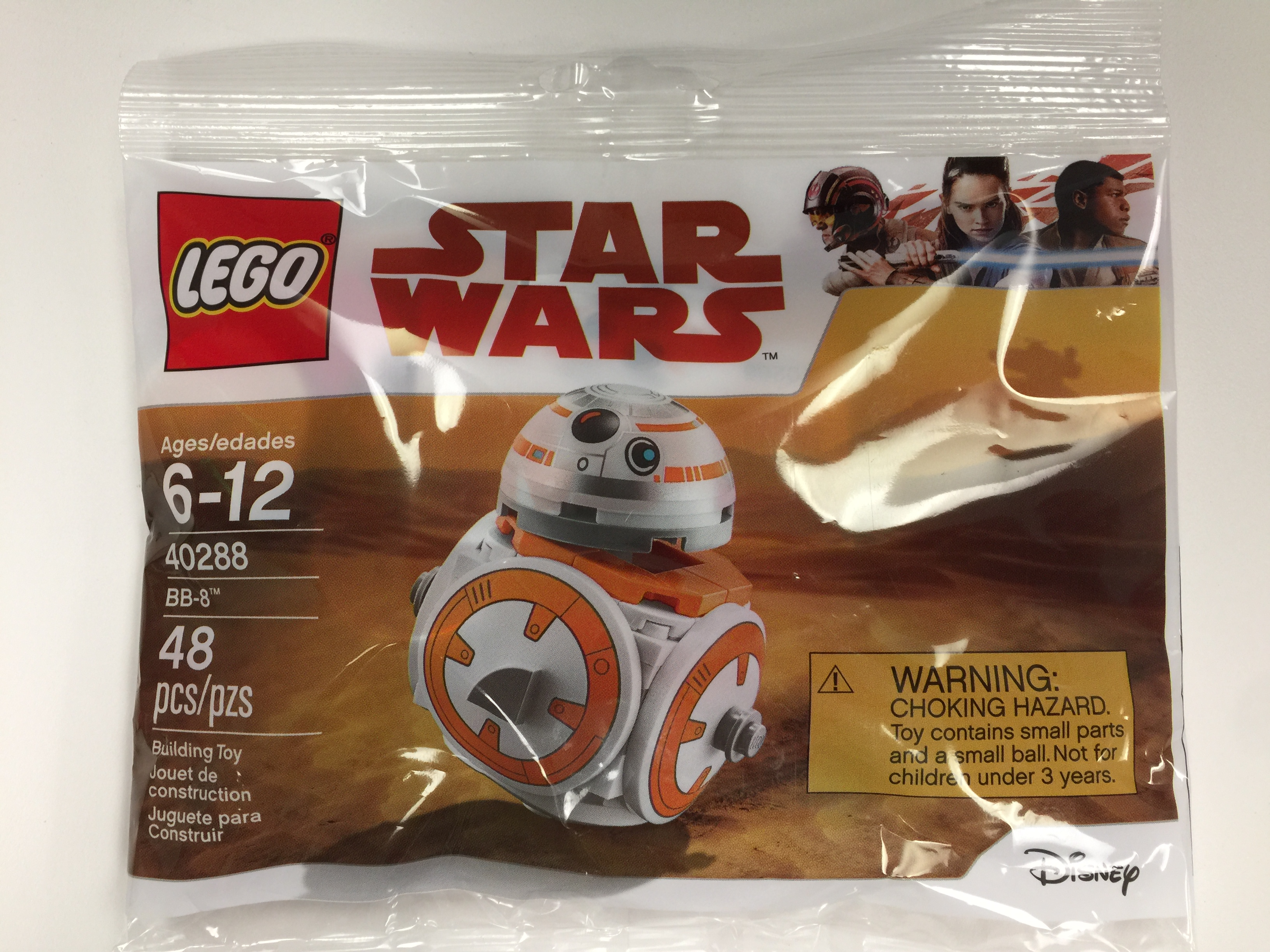 Sealed! Lego Star Wars BB-8 Polybag Set 40288 New
