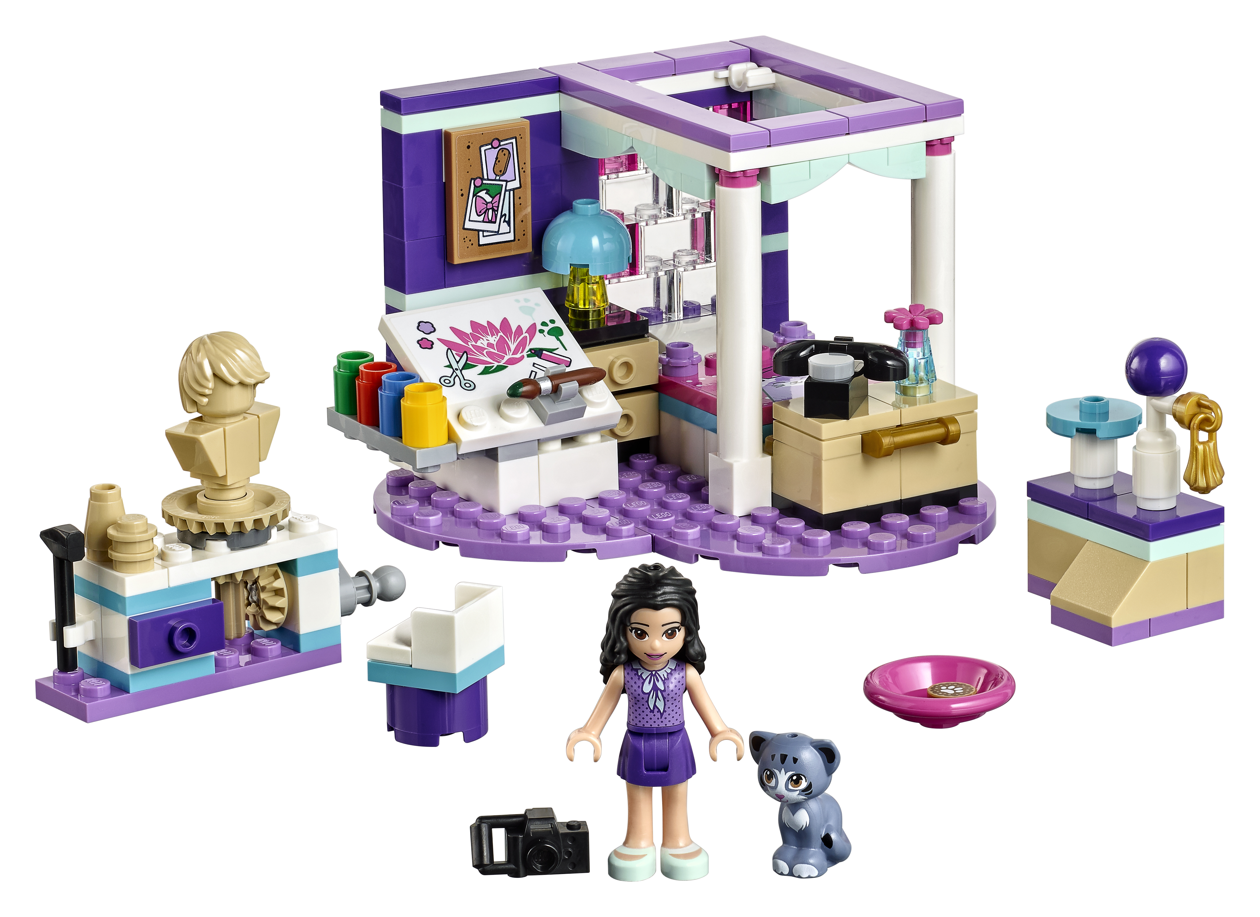 New For 2018! 41344 LEGO Friends Andrea/'s Accessories Store 294 Pieces Age 6