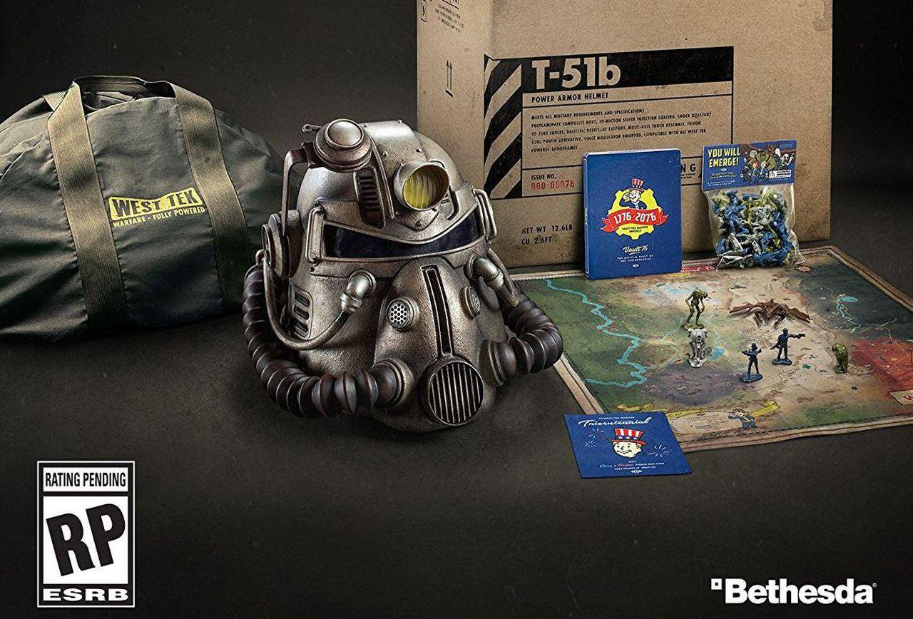 Fallout 76 Power Armor Edition Fbtb