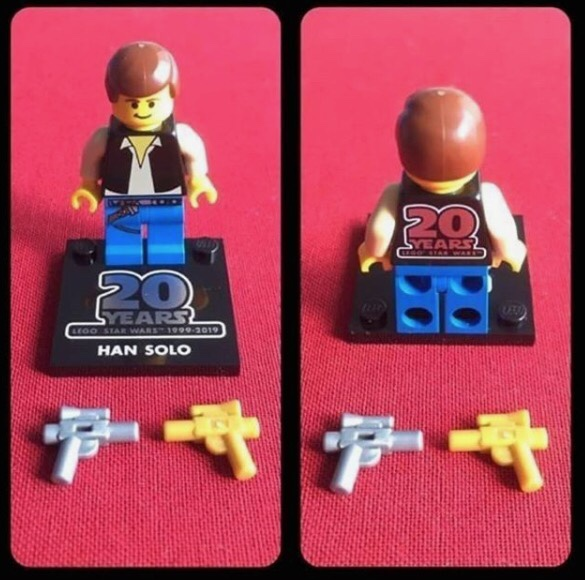 LEGO Star Wars Han Solo Minifigure 75262 Mini Fig