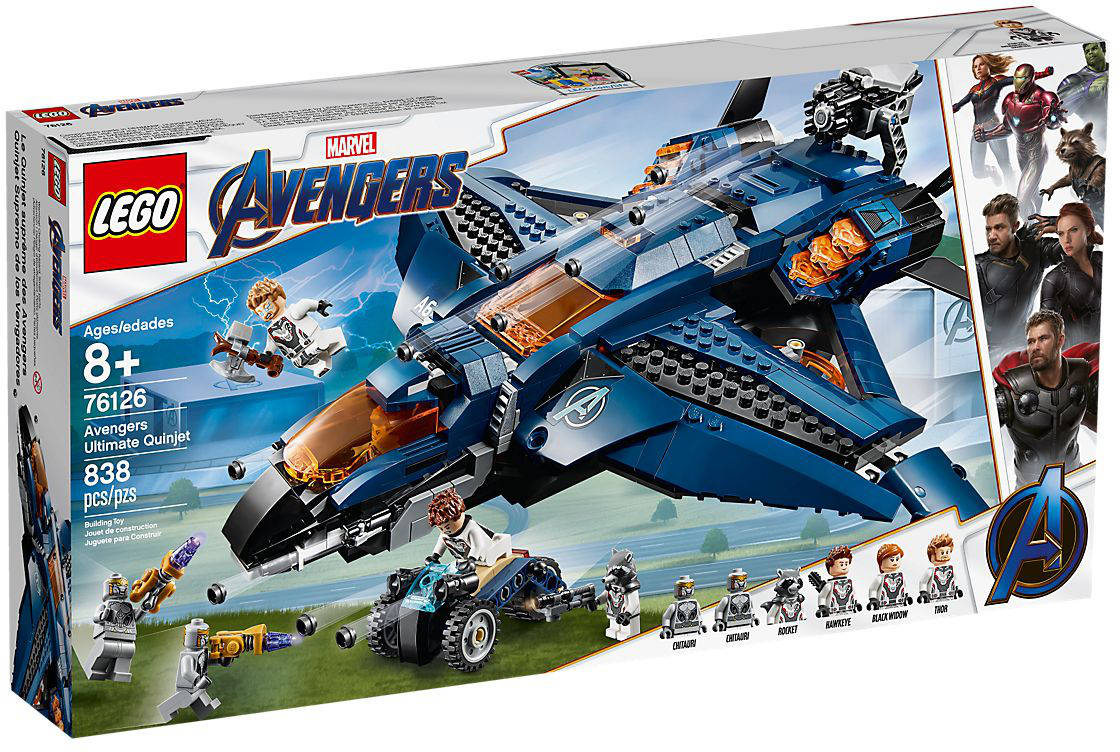 76126 Avengers Ultimate Quinjet