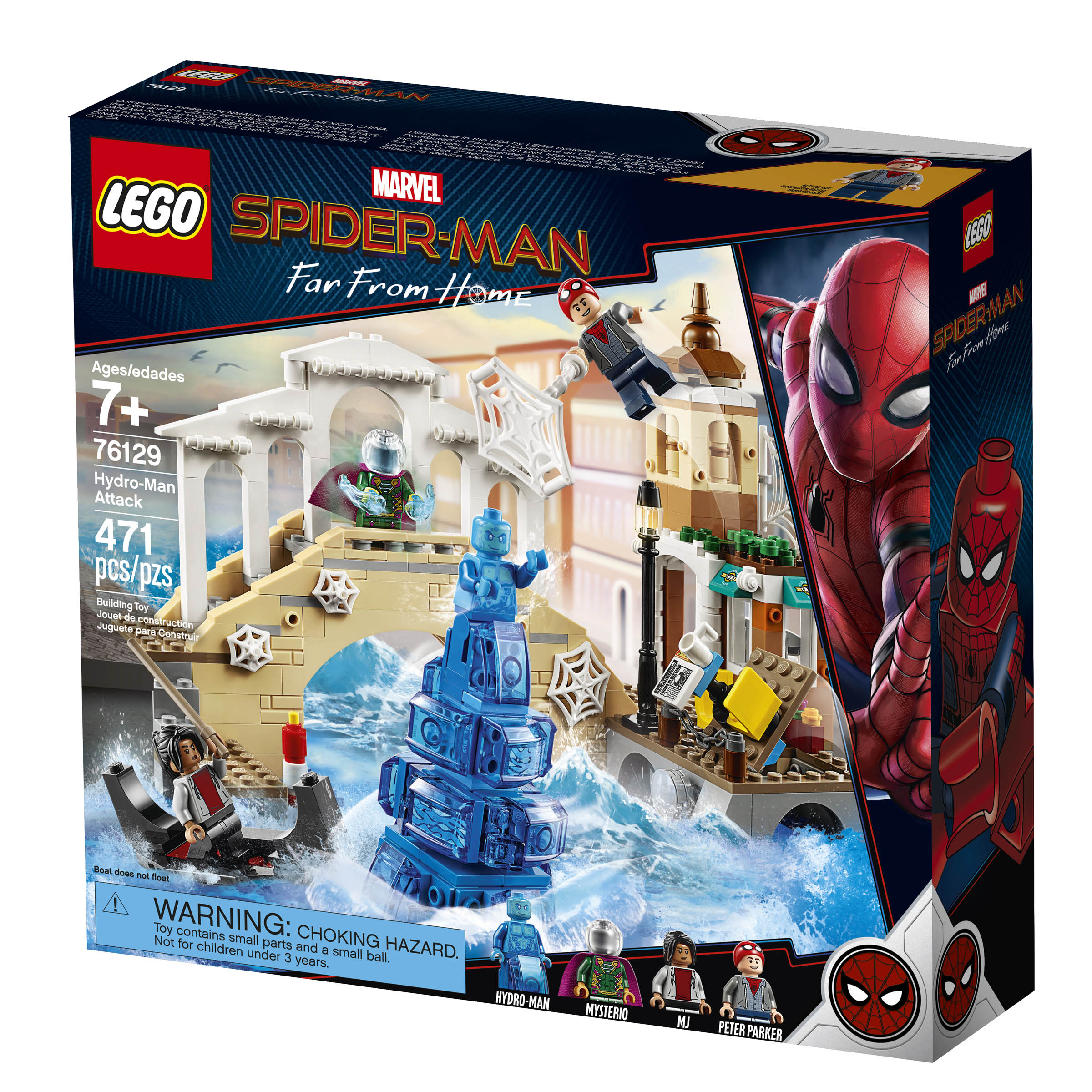 New Spider-Man: Far From Home LEGO Sets Revealed