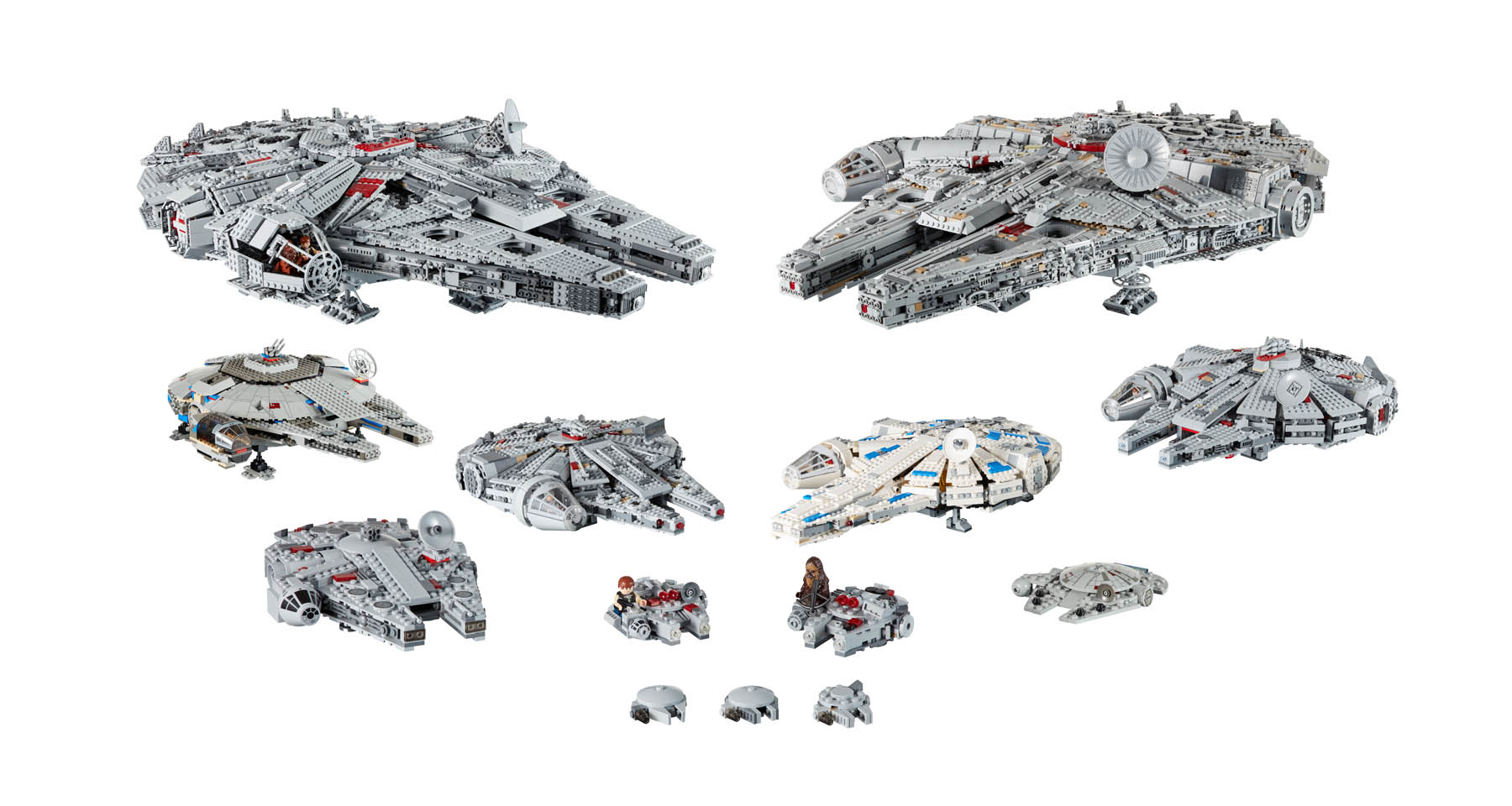 LEGO Star Wars 20th Anniversary Metallic Logo