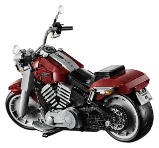 Harley-Davidson Fat Boy LEGO Set12