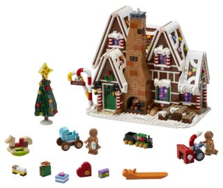 LEGO Gingerbread House full set