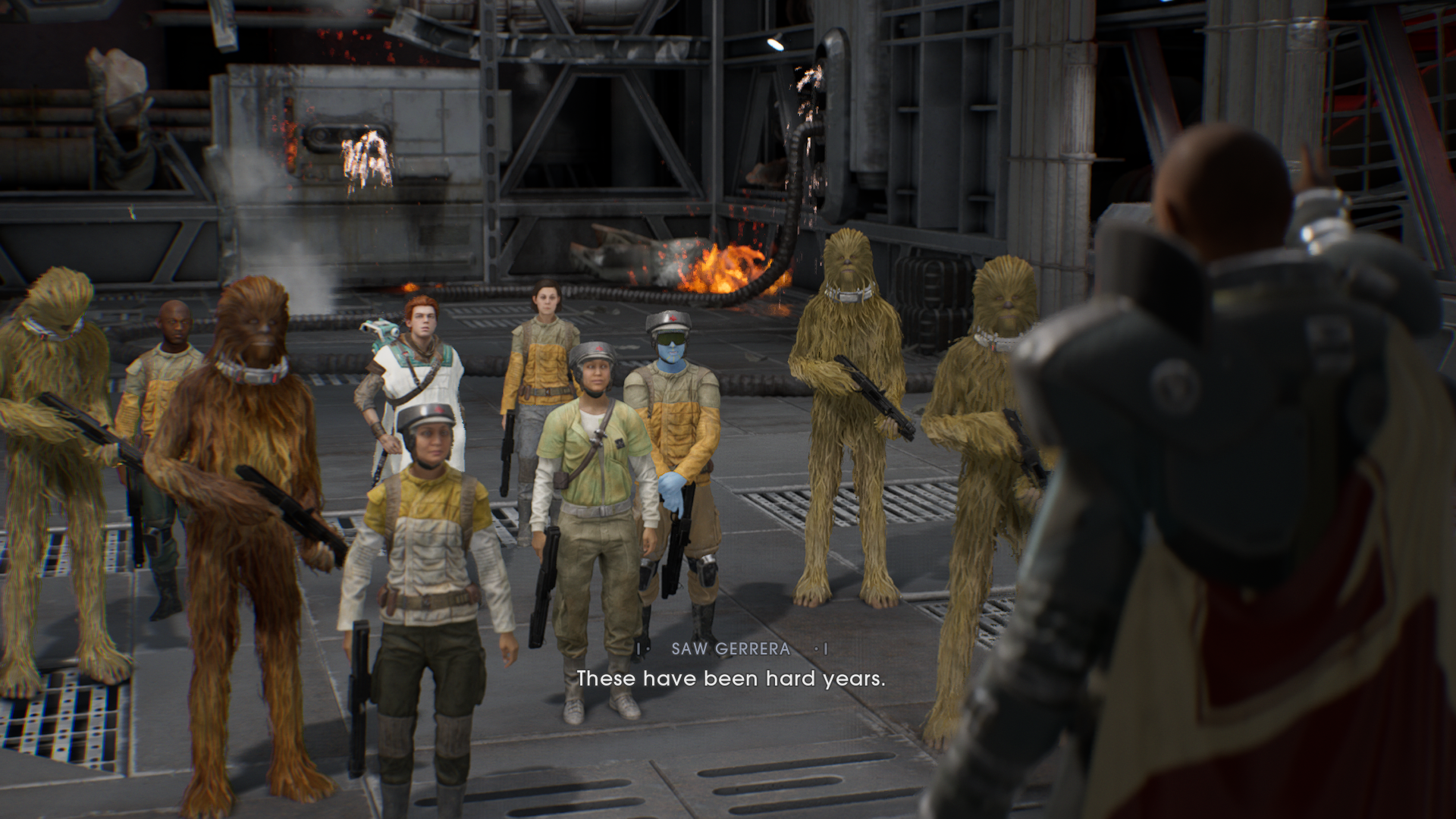 Review Star Wars Jedi Fallen Order Fbtb Fallen order takes place five years after the events of revenge of the sith and the infamous order 66. review star wars jedi fallen order