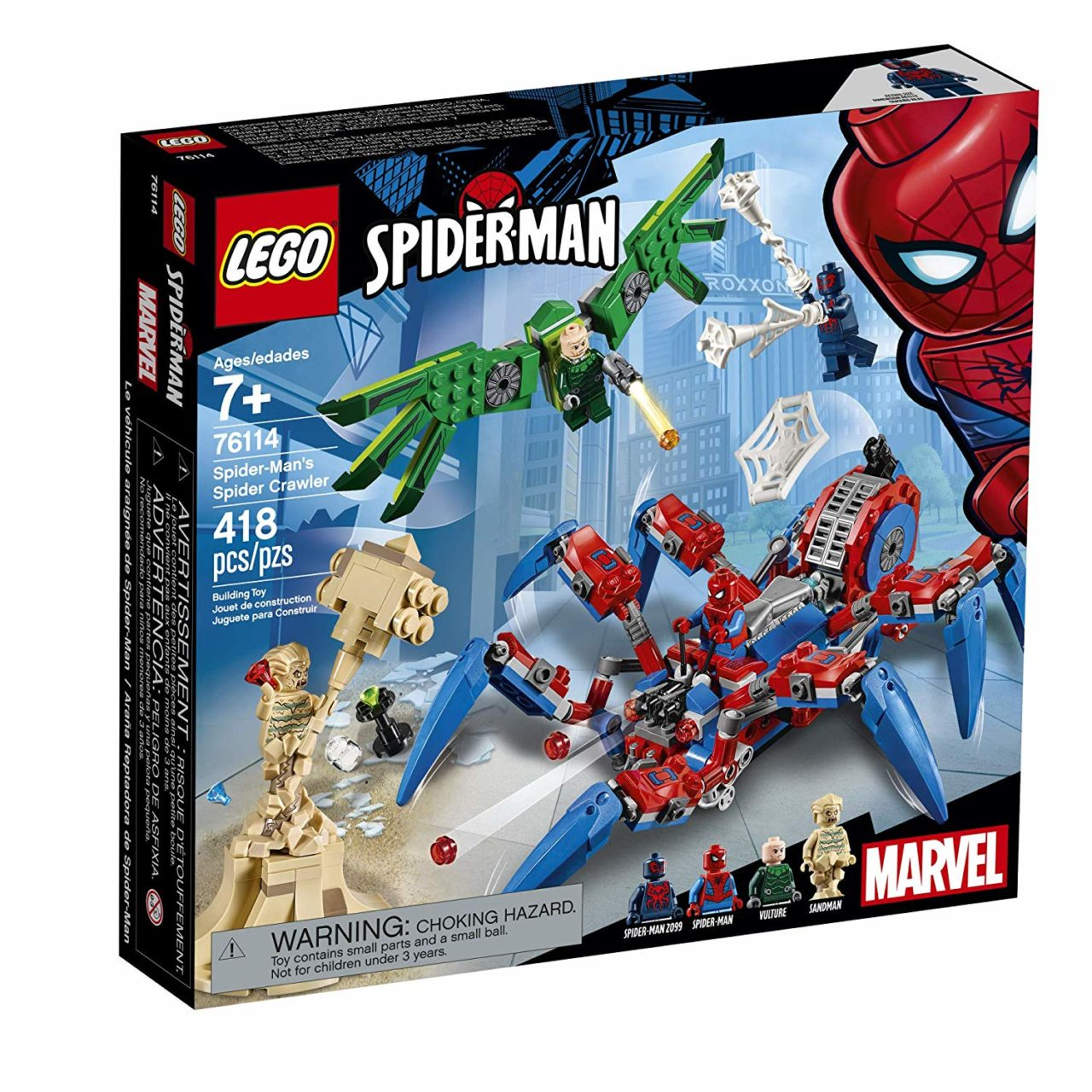 76114 Spider-Man's Spider Crawler box image